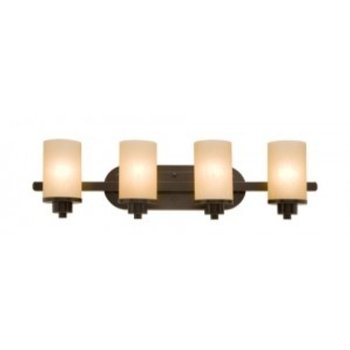 Product Image: Artcraft Lighting AC1304OB Parkdale 30 in. x 8 in. 4 Light Bathroom Fixture - Oiled Bronze