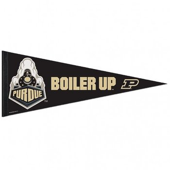 Product Image: Purdue Boilermakers Official NCAA 12 inch x 30 inch Felt Pennant by Wincraft 725806