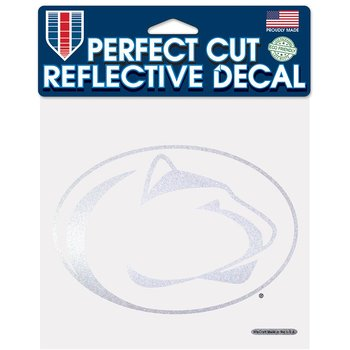 Product Image: Penn State Nittany Lions Official NCAA 6 inch x 6 inch Reflective Die Cut Car Decal by Wincraft 067258