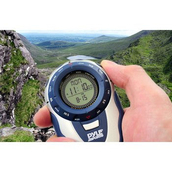 Handheld Track Watch With  Digital Compass 42 Laps Chronograph Memory Pacer