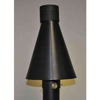 Product Image: HPC Black Aluminum TK Torch Head Kit -Match Lit - Natural Gas Model